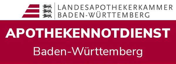 Apothekennotdienst /  Landesapothekerkammer Bade-Württemberg